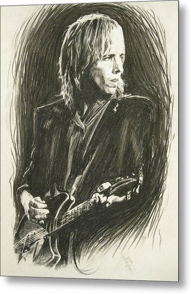 Tom Petty 1 Metal Print