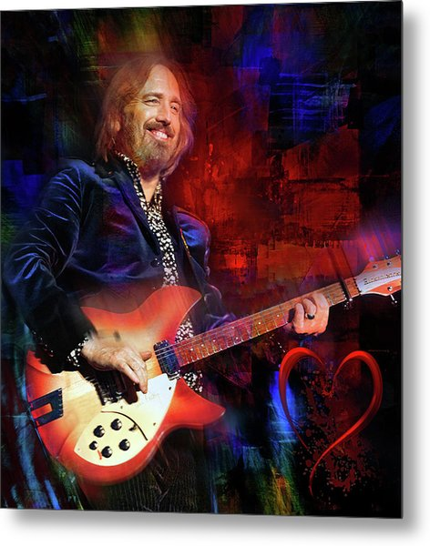 Tom Petty And The Heartbreakers Metal Print