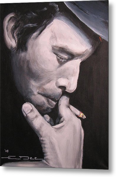 Tom Waits Two Metal Print