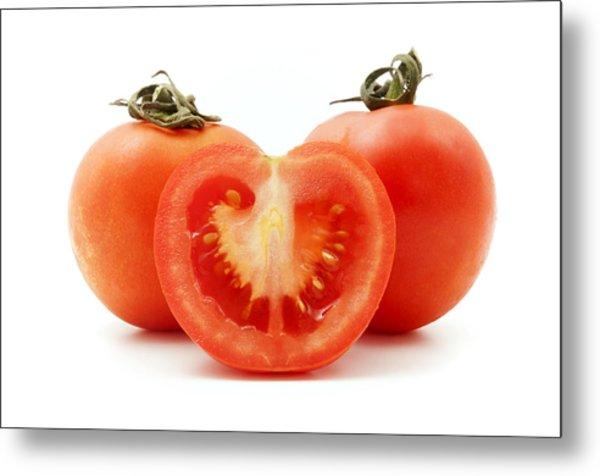 Tomatoes Metal Print