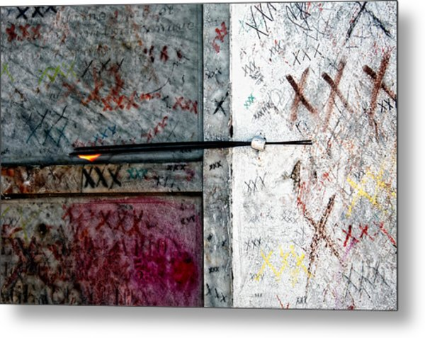 Tomb Of Marie Laveau Voodoo Queen Of New Orleans Metal Print