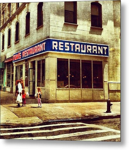 Tom's Restaurant. #seinfeld Metal Print by Luke Kingma