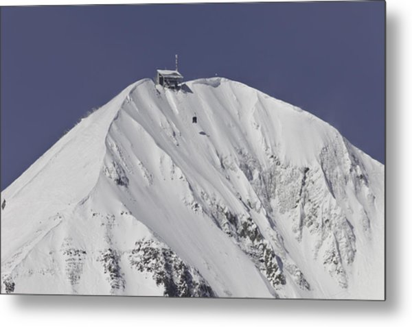 Top Of The Tram Metal Print