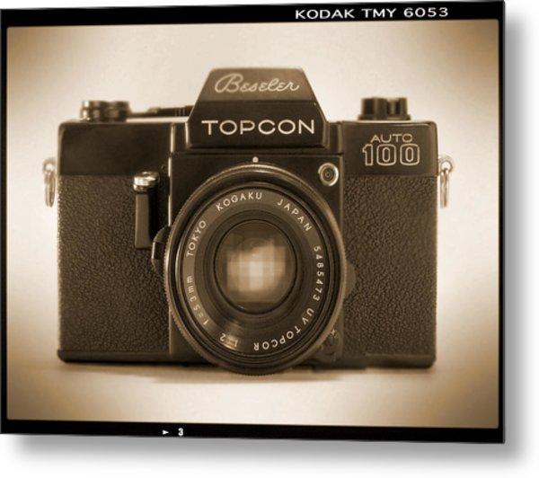Topcon Auto 100 Metal Print