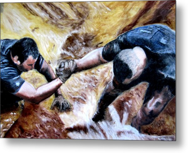Tough Mudder Wounded Warrior Contest Metal Print