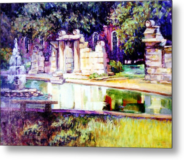 Tower Grove Park Metal Print