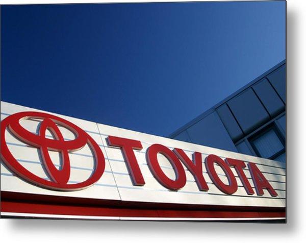 Toyota 8 Metal Print