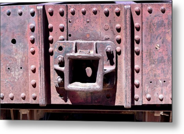Train Abstract No. 9-1 Metal Print