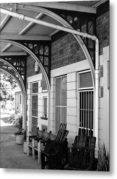 Train Station2 Metal Print by Bridgette  Allan