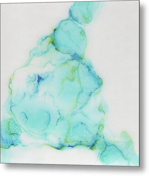 Tranquil And Soft Sky Metal Print