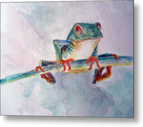 Tree Frog Metal Print by Mike Segura