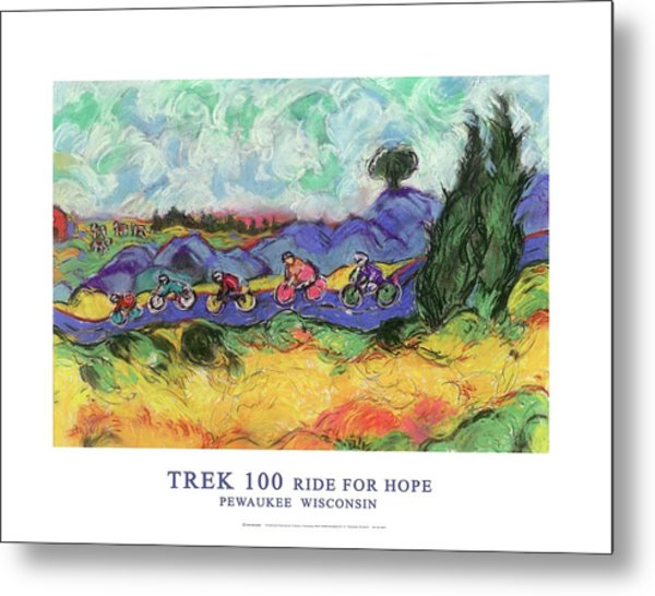 Trek 100 Poster Metal Print