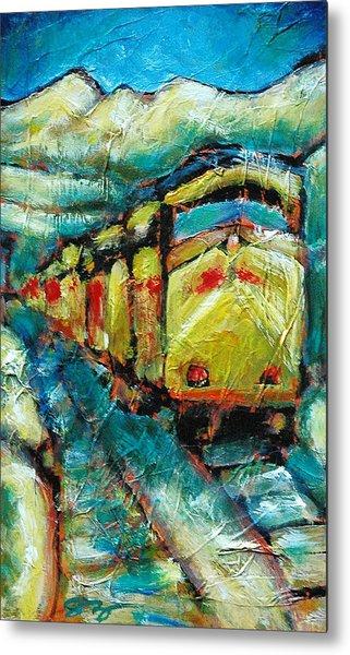 Truckee Train 2 Metal Print by Sara Zimmerman