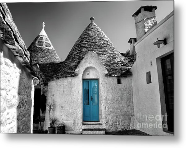 Trulli Metal Print by Alessandro Giorgi Art Photography