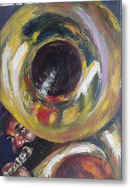 Tuba Fats Metal Print