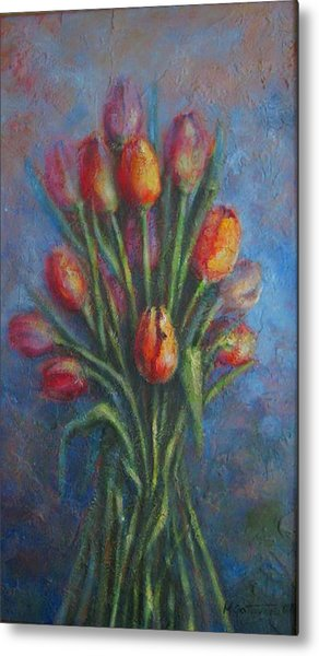 Tulips Metal Print by Mirjana Gotovac