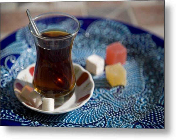Turkish Tea Metal Print by Steve Outram