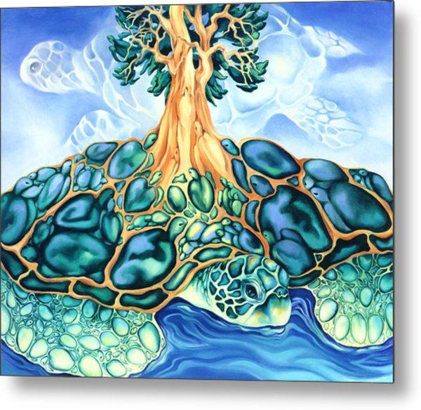 Turtle Island Metal Print by Marcia Snedecor