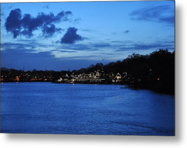 Twilight Row Metal Print