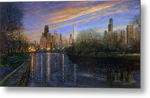 Twilight Serenity Metal Print