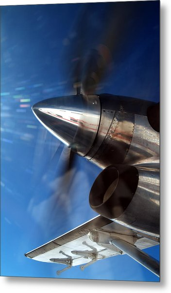 Twin Otter  Metal Print by Richard Steinberger
