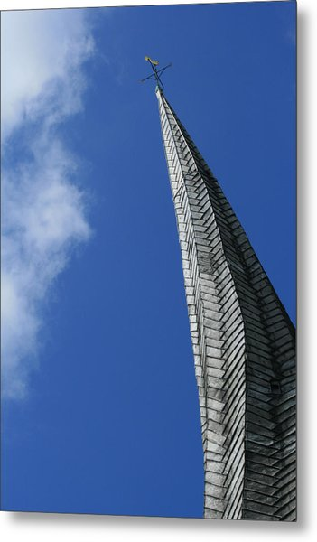 Twisted Spire Metal Print by Cathy Weaver