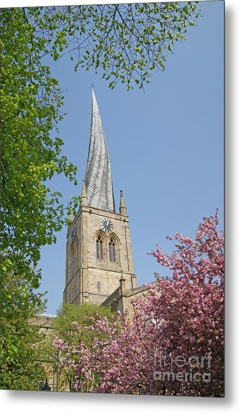 Chesterfield's Twisted Spire Metal Print