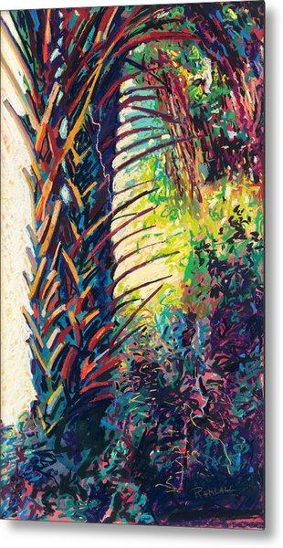 Two Palms Metal Print