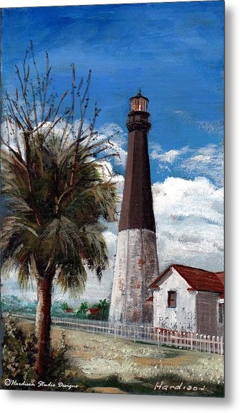 Tybee Lighthouse Metal Print by Robynne Hardison
