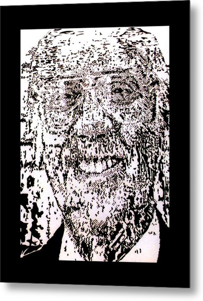 Uncle Walter Metal Print by Gabe Art Inc