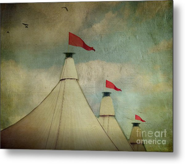 Under The Big Top Metal Print