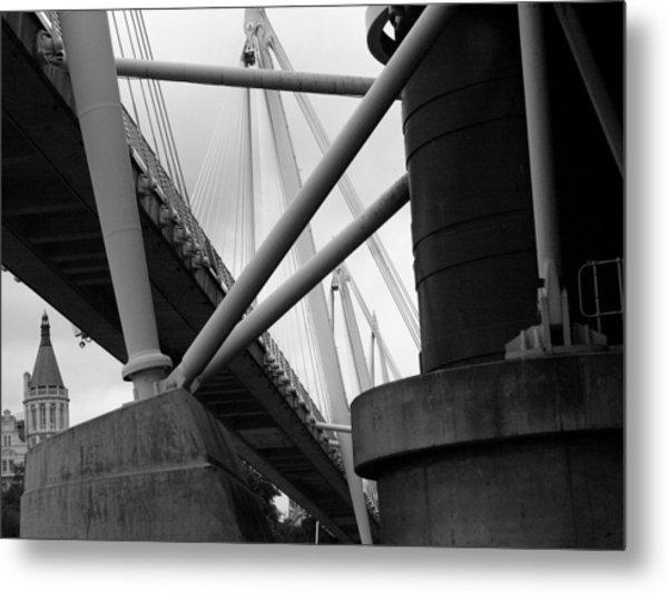 Under The Bridges  Metal Print