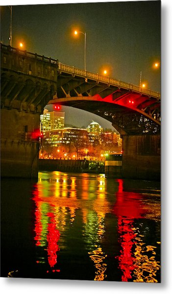 Under The Burnside Metal Print