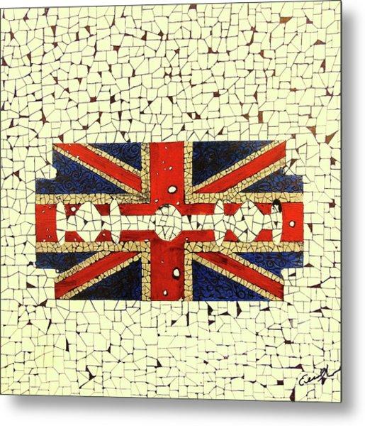 Union Jack 2 Metal Print