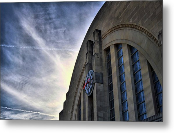Union Terminal Metal Print by Russell Todd