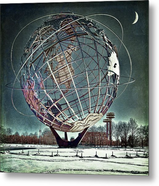 Unisphere Metal Print
