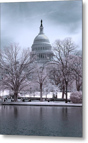 United States Capitol Metal Print