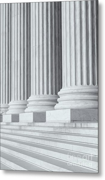 Us Supreme Court Building Iv Metal Print