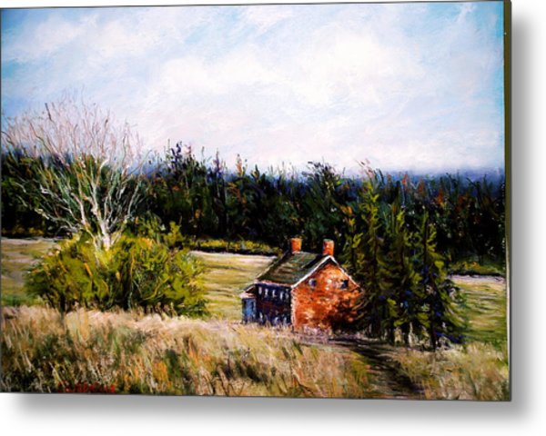 Valley Forge Spring Metal Print by Joyce A Guariglia