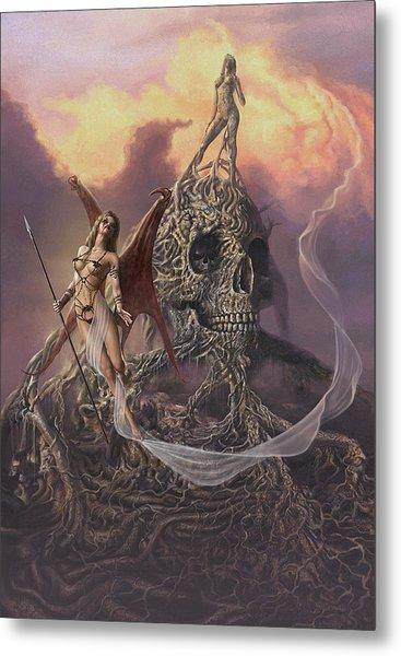 Vampis Lair Metal Print