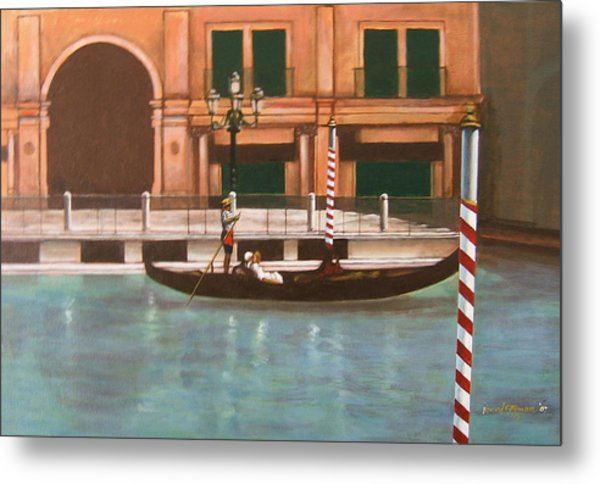 Venetian Number Two Metal Print by Howard Stroman