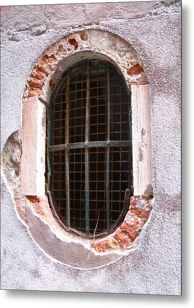 Venetian Window Metal Print