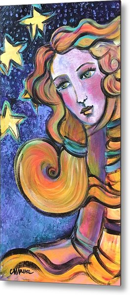 Metal Print featuring the painting Venus Of Barbosso  by Laurie Maves ART