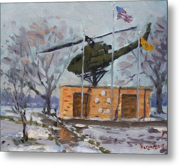 Veterans Memorial Park In Tonawanda Metal Print