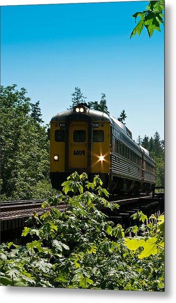 Via Rail - 6135 Metal Print by R J Ruppenthal