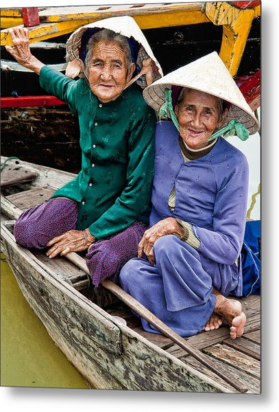 Vietnamese Women Metal Print