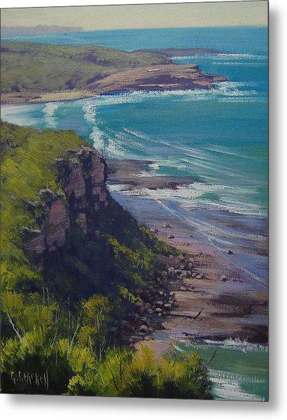 View Across Frazer Beach  Nsw Australia Metal Print