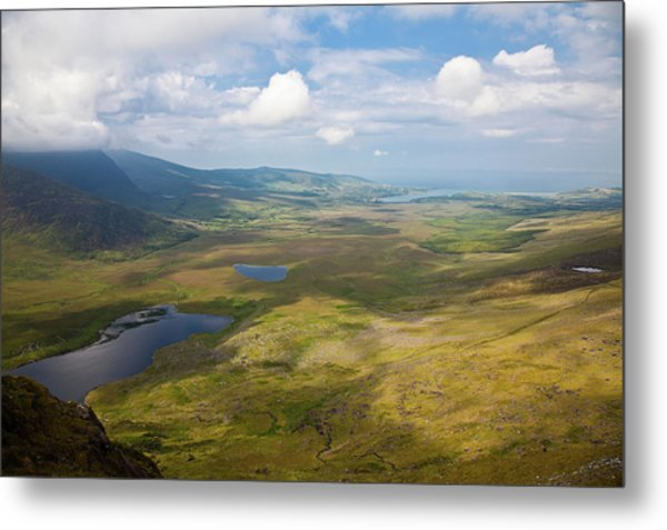 View From Connor Pass Metal Print
