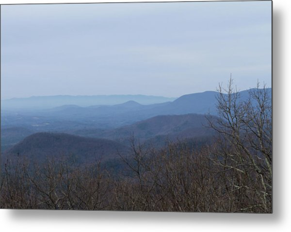 View From Springer Mountain Metal Print
