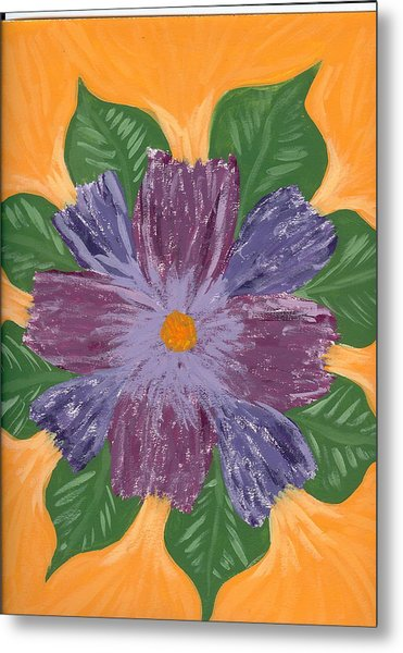 Viola Metal Print by Laura Lillo